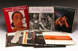 Sale 9136 - Lot 6 - A collection of mostly jazz LP records including Nelly Lutcher And Pete Jolly Trio