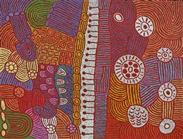 Sale 9171A - Lot 5027 - MARLENE YOUNG NUNGURRAYI (1973 - ) Minyma Tjukurrpa acrylic on canvas 199 x 152 cm (stretched and ready to hang) signed verso; certi...