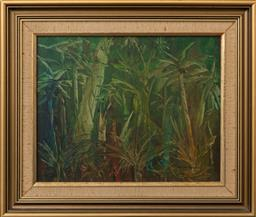 Sale 9256H - Lot 70 - William Russell - Bamboo signed lower right