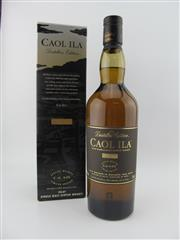 Sale 8423 - Lot 612A - 1x 2003 Caol Ila Distillery The Distillers Edition Islay Single Malt Scotch Whisky - 700ml in box, 43% ABV