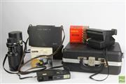 Sale 8496 - Lot 41 - Cased Polaroid, Canon Camera, Tamron Lens & Accessories