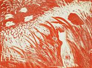Sale 8838A - Lot 5047 - Charles Blackman (1928 - 2018) - The Cats Garden 50 x 64cm