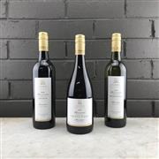 Sale 8970W - Lot 93 - 3x James Estate Baerami Vineyard, Hunter Valley - 2018 Reserve Shiraz, 2019 Reserve Shiraz Pinot & Reserve Chardonnay