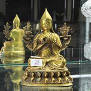 Sale 8304 - Lot 25 - Bronze Buddha Figure