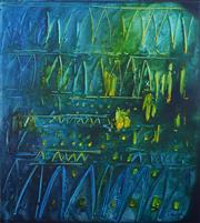 Sale 8358 - Lot 561 - Stanislaus (Stan) Rapotec (1913 - 1997) - Chartres II, 1979 152 x 136.5cm