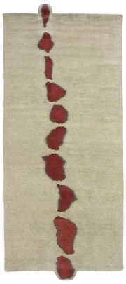 Sale 8626A - Lot 137 - A Cadrys 'Stile BK' Tibetan Highland Wool & Nettle Carpet, Size; 287x122cm, RRP; $3500