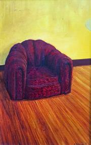 Sale 8655A - Lot 5025 - Adam Nudelman (1967 - ) - The Red Lounge 2, 1995 38 x 24.5cm