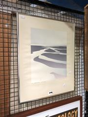 Sale 8856 - Lot 2019 - Malcolm Warr Estuary 1976 screenrprint ed. 5/16, signed lower right