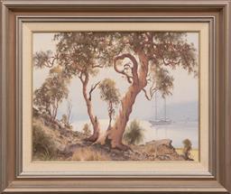 Sale 9256H - Lot 19 - Brian Baigent - Autumn Sonnet signed lower left