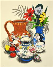 Sale 8443A - Lot 5075 - Frederick (Fred) Cress (1938 - 2009) - Brown Jug, 2000 79 x 61cm