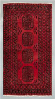Sale 8472C - Lot 80 - Afghan Turkman 190cm x 100cm