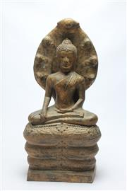 Sale 8662 - Lot 67 - Large Cast Buddha