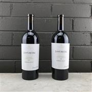 Sale 8970W - Lot 95 - 2x 2018 Calabria Family Wines Saint Petri Shiraz Carignan, Barossa Valley - sample labels