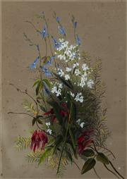 Sale 9067 - Lot 552 - Marian Ellis Rowan (1848 - 1922) (2 works) - Botanical Study,1880 ,1899 50 x 35 cm (frame: 71 x 56 x 3 cm)