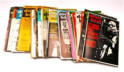 Sale 9136 - Lot 91 - A Collection of Down Beat Magazines