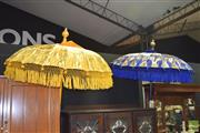 Sale 8390 - Lot 1108 - Two Balinese Umbrellas
