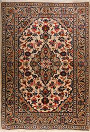 Sale 8447C - Lot 65 - Persian Kashan 143cm x 102cm