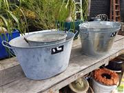 Sale 8601 - Lot 1241 - Collection of Various Buckets