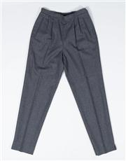 Sale 8740F - Lot 36 - A pair of vintage Emporio Armani charcoal wool pleated pants, IT44