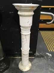 Sale 8795 - Lot 1001 - Marble Pedestal