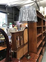 Sale 8868 - Lot 1549 - Pair of Gunmetal Table Lamps (5790)
