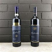 Sale 8970W - Lot 96 - 2x Blue Pyrenees Estate Richardson Reserve Shiraz, Pyrenees - 2013  & 2017