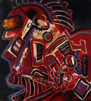 Sale 8980A - Lot 5022 - Artist Unknown - Untitled, 1993 103 x 93.5 cm (total: 103 x 93.5 x 4 cm)