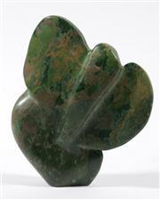 Sale 9003 - Lot 76 - Contemporary greenstone sculpture H:15cm