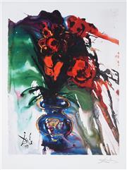 Sale 9009A - Lot 5017 - Salvador Dali (1904 - 1989) - Galas Bouquet 66 x 50 cm (frame: 113 x 93 x 3 cm)