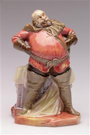 Sale 9078 - Lot 43 - Royal Doulton Falstaff figure (HN2054, H018.5cm)