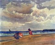 Sale 8655A - Lot 5027 - John Samuel Watkins (1866 - 1942) - Sea Urchins, 1903 30 x 36cm