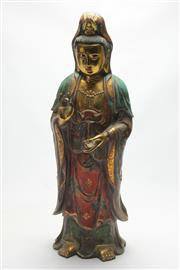 Sale 8662 - Lot 74 - Large Guanyin Figure