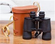Sale 8694A - Lot 60 - A pair of Halina binoculars in case
