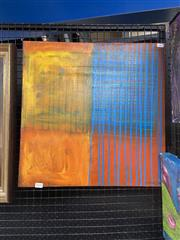 Sale 8995 - Lot 2010 - Anthony Griffis Abstract 1999 acrylic on canvas, 51 x 51cm  signed