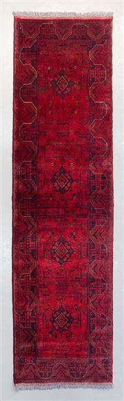 Sale 8472C - Lot 82 - Afghan Khal Mohamadi 295cm x 82cm