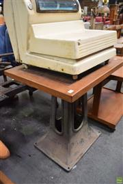 Sale 8550 - Lot 1079 - Industrial Works Table