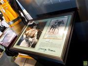 Sale 8659 - Lot 2096 - Framed George Moore Photo, Signed