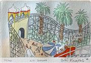 Sale 8752A - Lot 5024 - Peter Kingston (1943 - ) - Sit Down 38 x 28.5cm