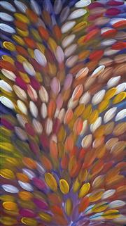 Sale 8847A - Lot 5045 - Gloria Petyarre (c1945 - ) - Bush Medicine Leaves 168 x 95cm