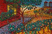 Sale 8980A - Lot 5031 - Dale Saunders - Farmhand 59.5 x 90 cm (frame: 68 x 98 x 2 cm)