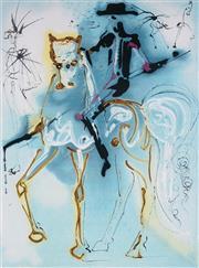 Sale 8985A - Lot 5005 - Salvador Dali (1904 - 1989) - Le Picador 55 x 37 cm (frame: 76 x 59 x 3 cm)
