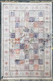 Sale 9051 - Lot 1045A - Persian Multi-Sectional Bakhtiari - some faults (304 x 198cm)