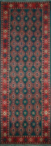 Sale 8307A - Lot 98 - Persian Somak 240cm x 84cm RRP $600