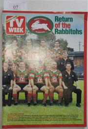 Sale 8404S - Lot 69 - TV Week - Return of the Rabbitohs, March 2002