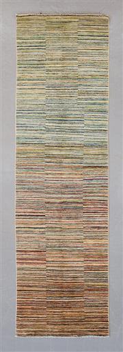 Sale 8472C - Lot 83 - Afghan Chobi Stripe 300cm x 80cm