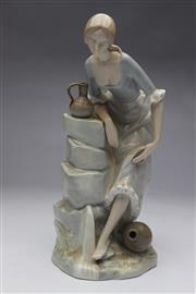 Sale 8698 - Lot 47 - Nao Figure Of A Lady