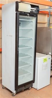 Sale 8984M - Lot 12 - A Bromic seven shelf upright freezer UF0374LS together with a Westinghouse bar fridge