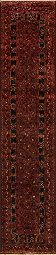 Sale 8360C - Lot 33 - Afghan Qunduzi 312cm x 70cm
