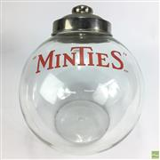 Sale 8643 - Lot 1022 - Minties Glass Jar