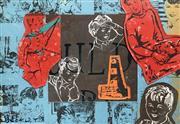 Sale 8655A - Lot 5030 - David Bromley (1960 - ) - Lighthouse Boy 80 x 115cm